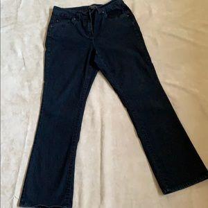 PENNINGTONS, size 16, slightly curvy fit jeans